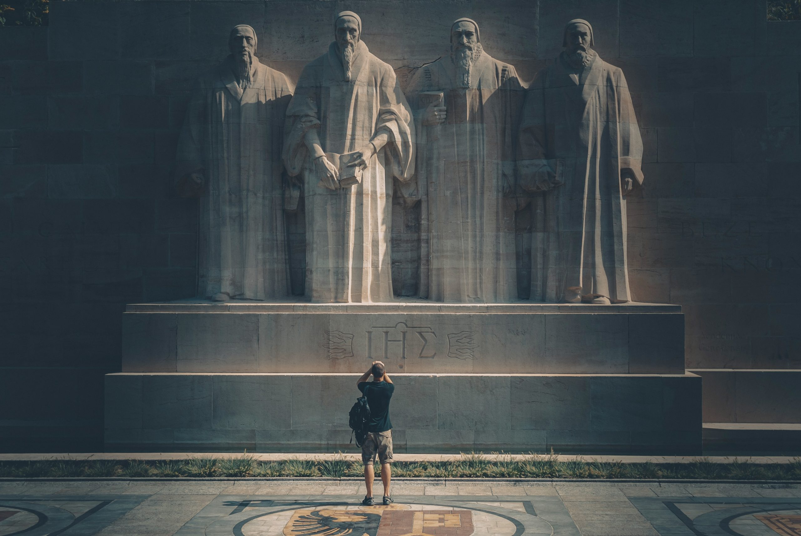Wand der Reformation in Genf